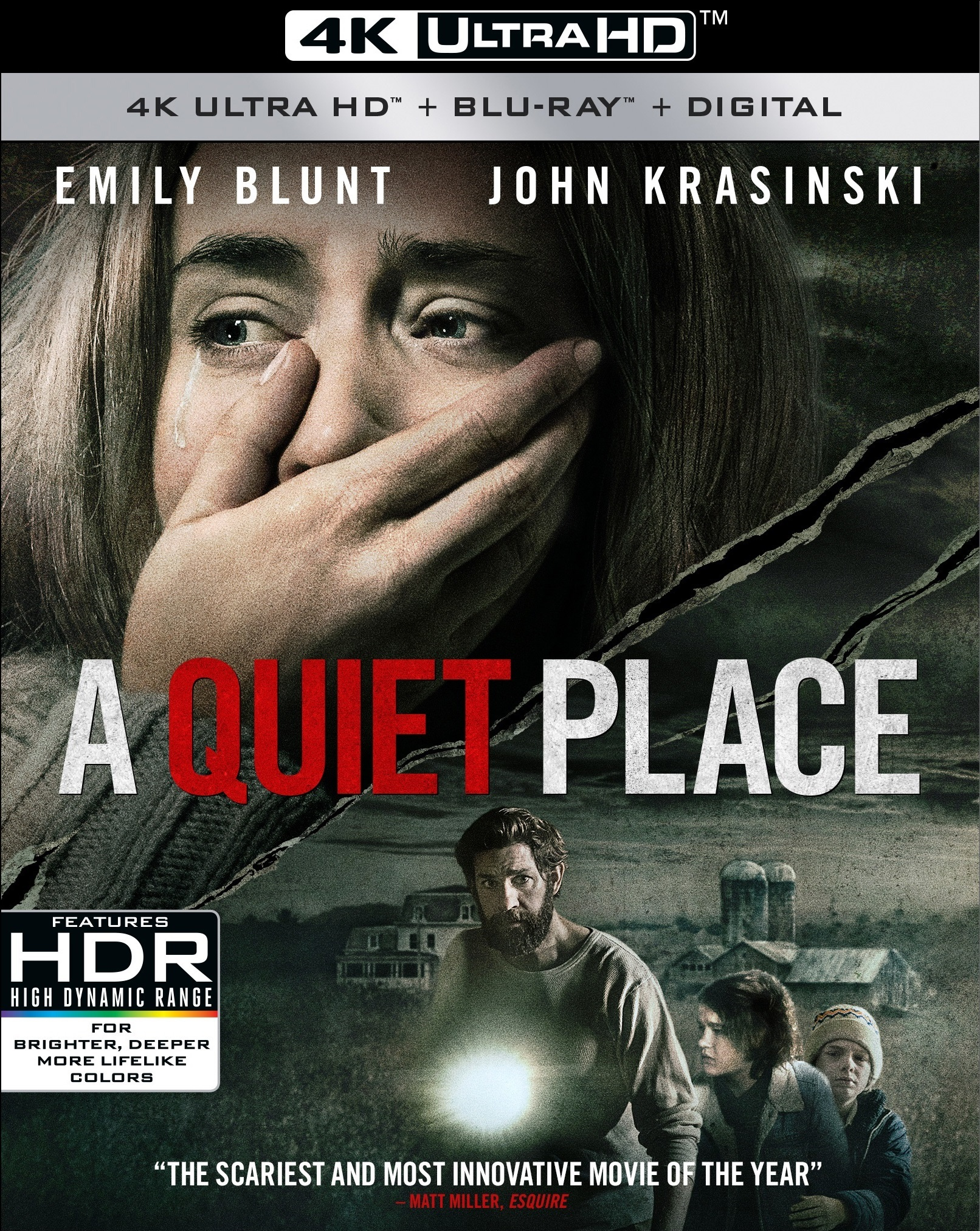 A Quiet Place 4K (2018) Ultra HD Blu-ray