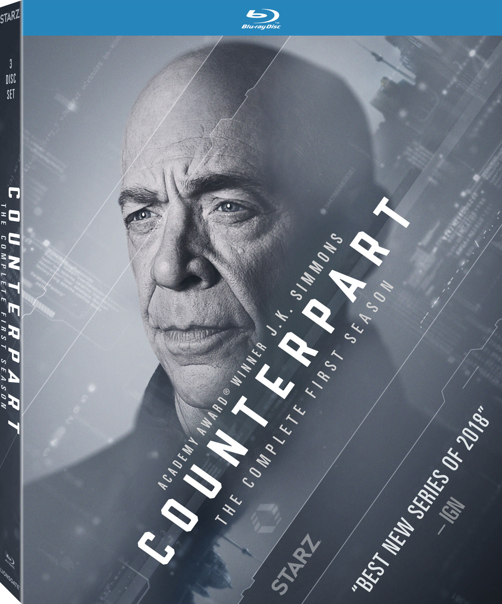 Counterpart: The Complete First Season (TV) (2018) Blu-ray