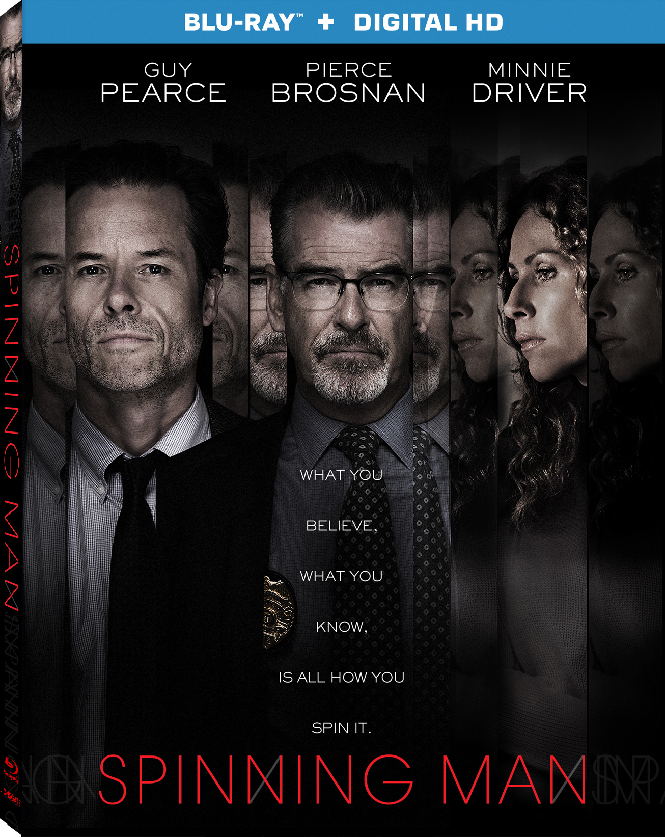 Spinning Man (2018) Blu-ray