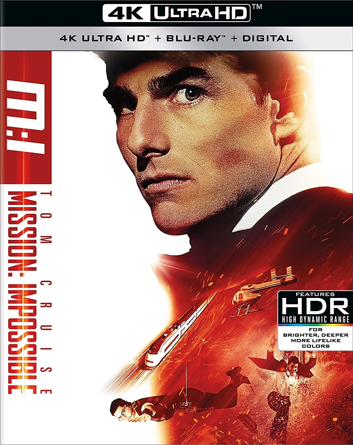 Mission: Impossible 4K (1996) Ultra HD Blu-ray