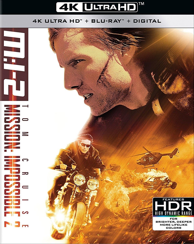 Mission: Impossible II 4K (2000) Ultra HD Blu-ray