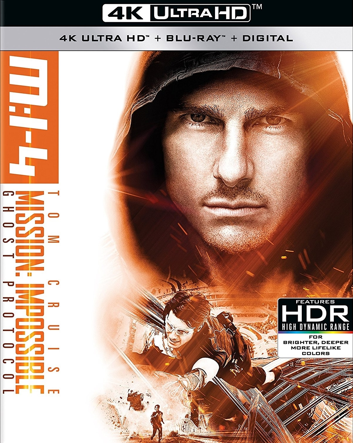 Mission: Impossible Ghost Protocol (2011) 4K Ultra HD Blu-ray