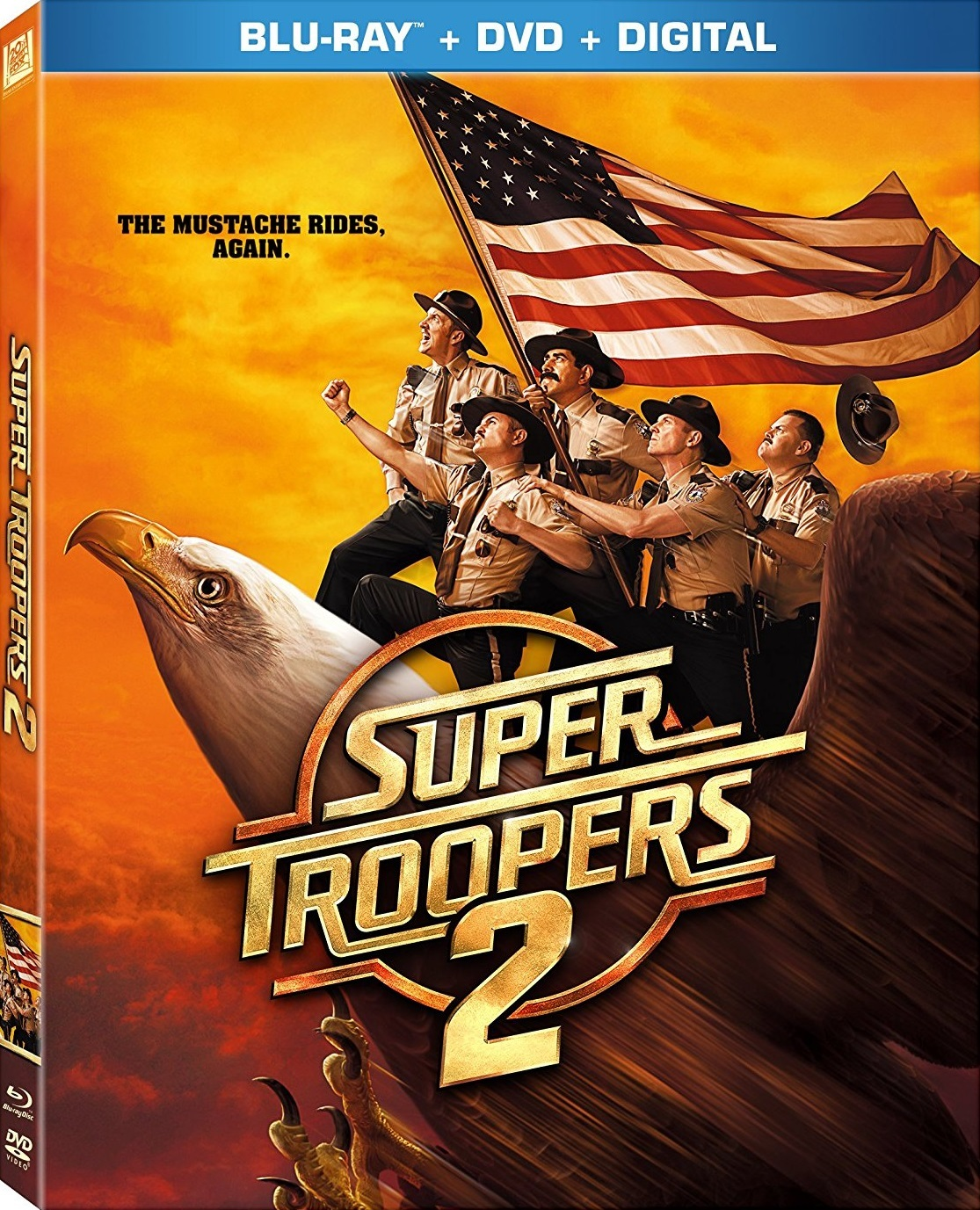 Super Troopers 2 (2018) Blu-ray