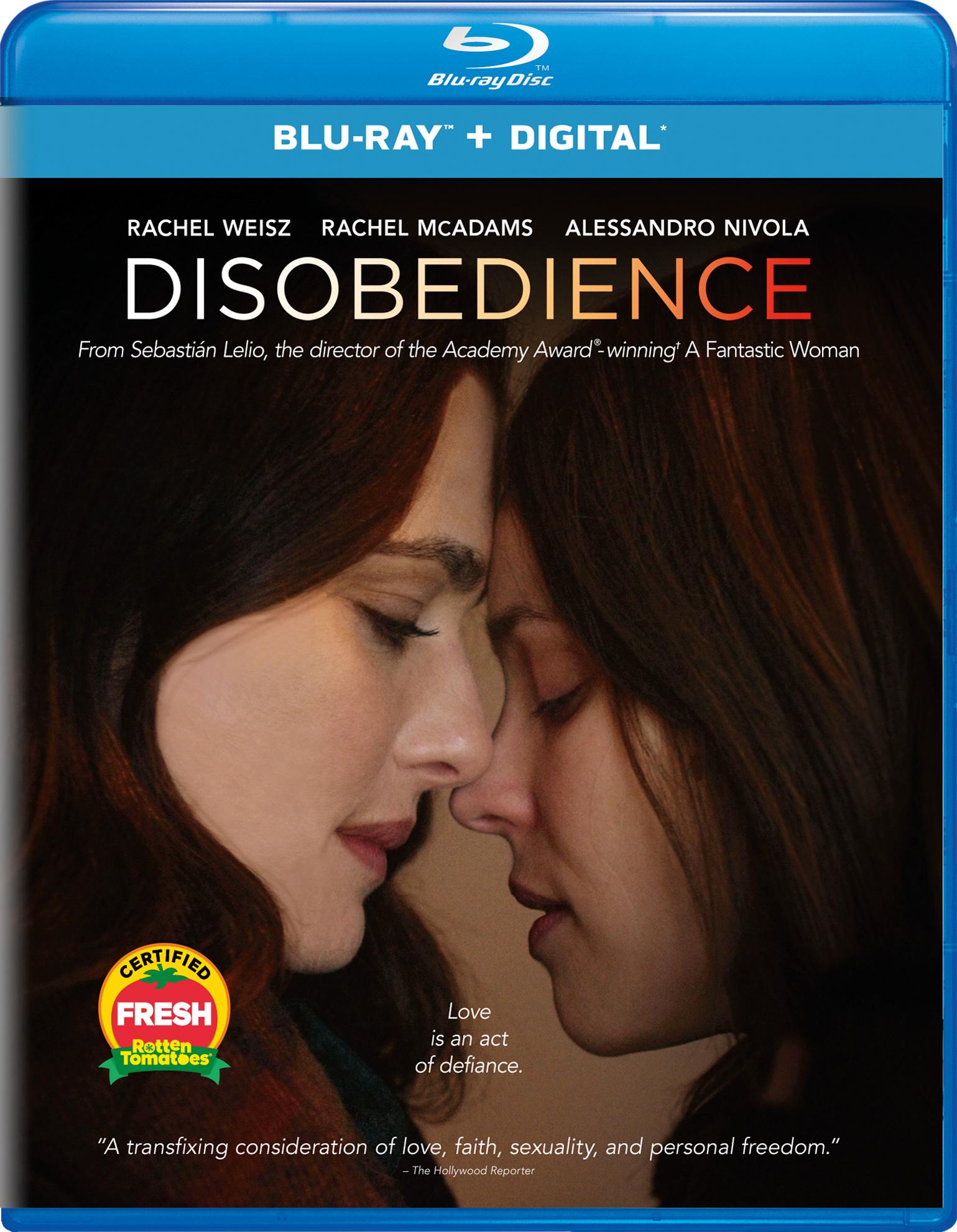 Disobedience (2017) Blu-ray