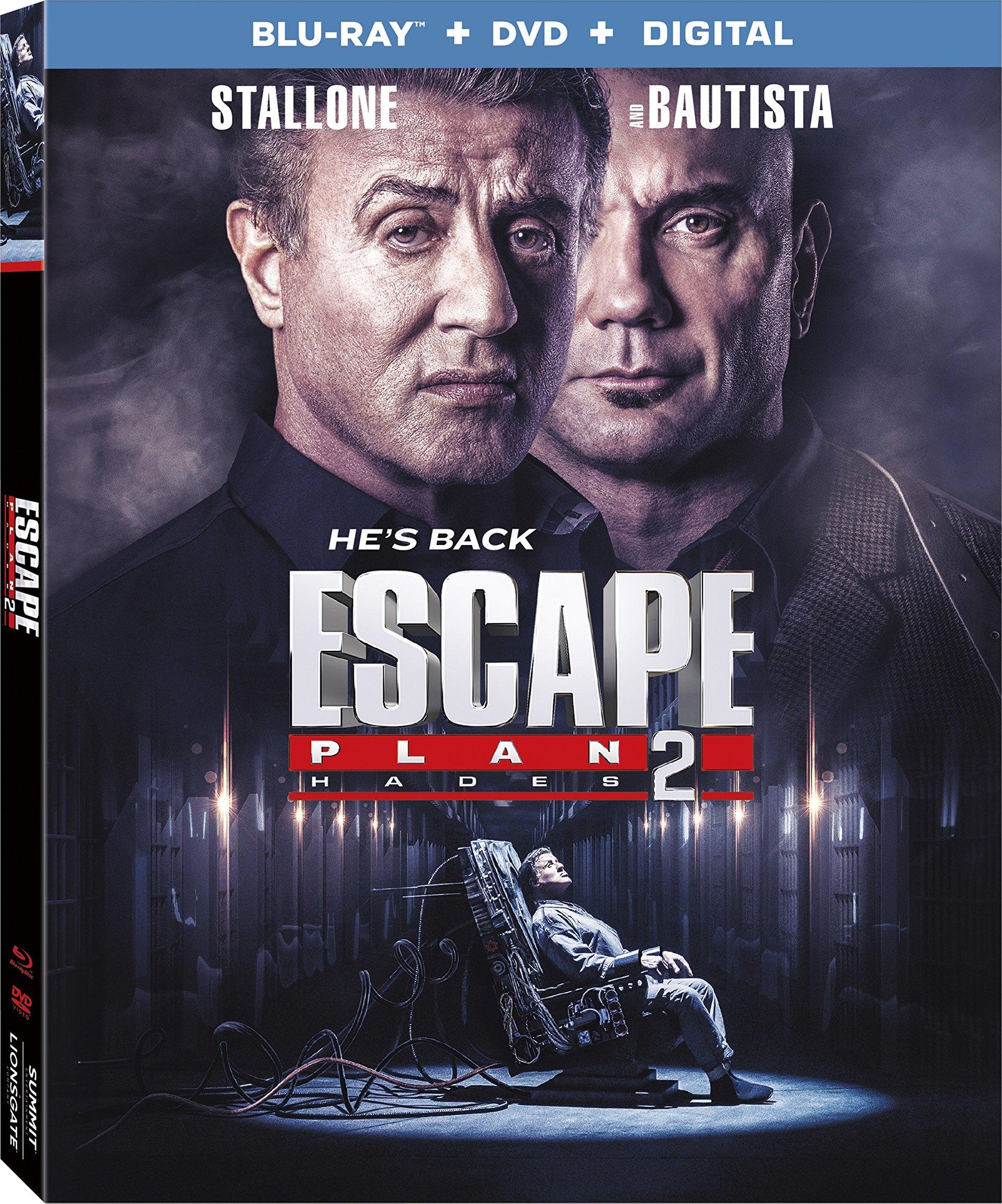 Escape Plan 2: Hades (2018) Blu-ray
