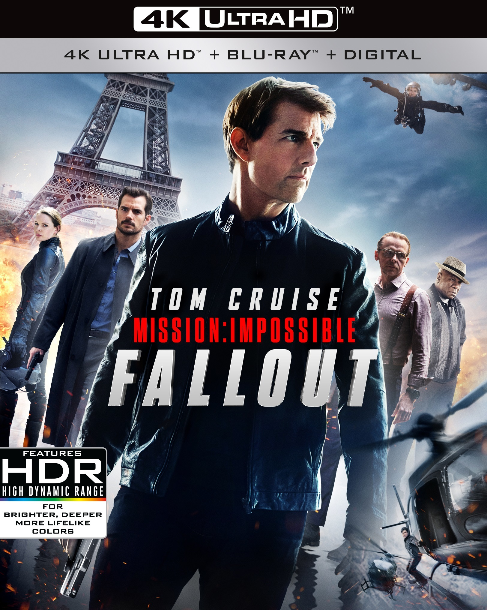 Mission: Impossible - Fallout 4K (2018) Ultra HD Blu-ray