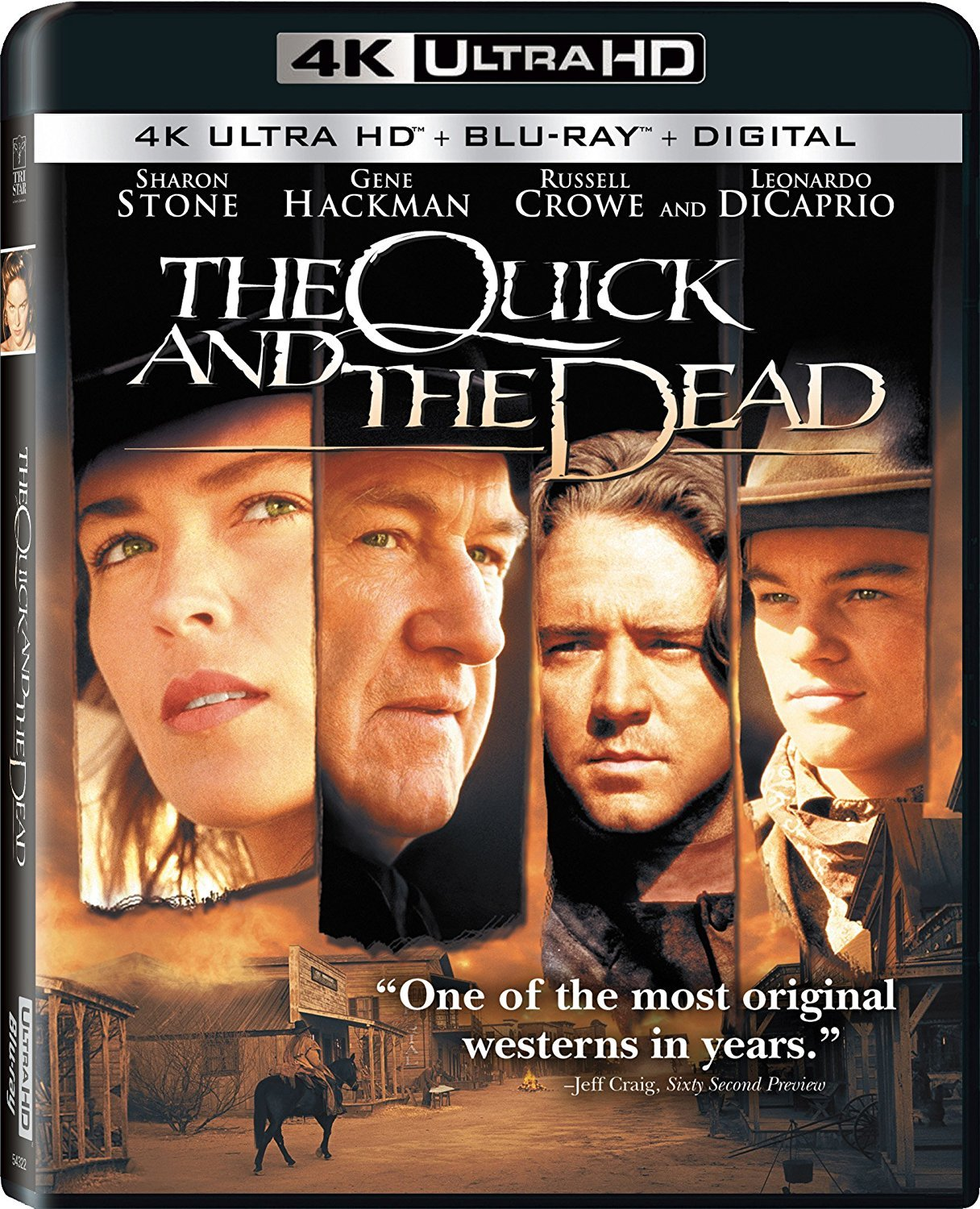 The Quick and the Dead 4K (1995) Ultra HD Blu-ray