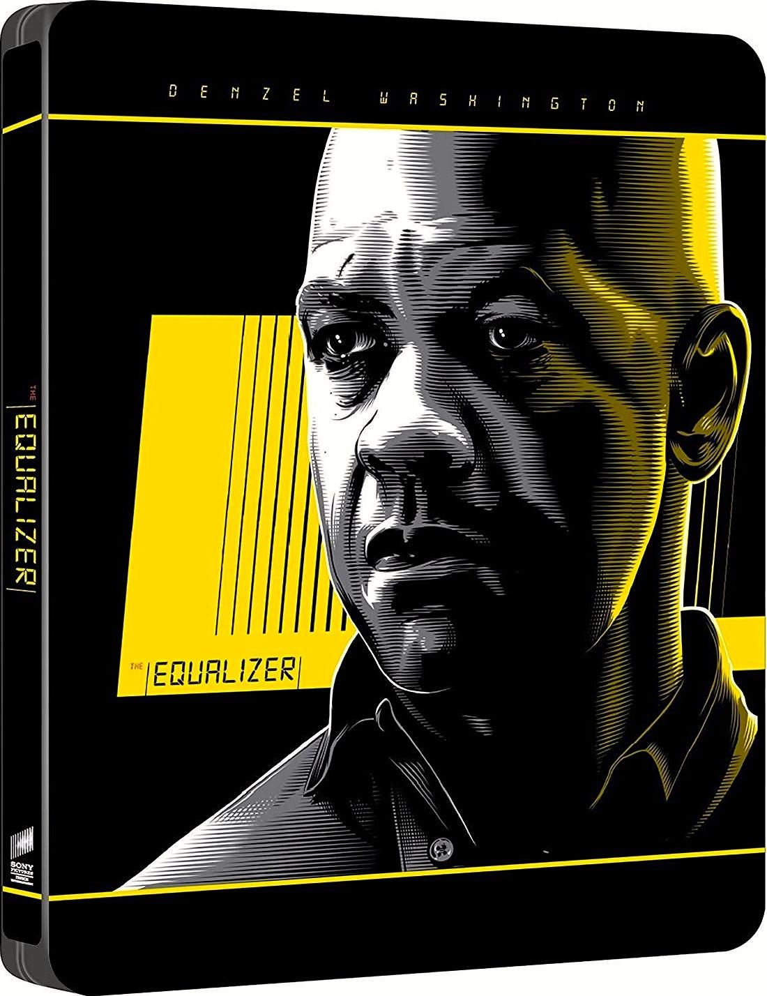 The Equalizer 4K (SteelBook)(2014) Ultra HD Blu-ray