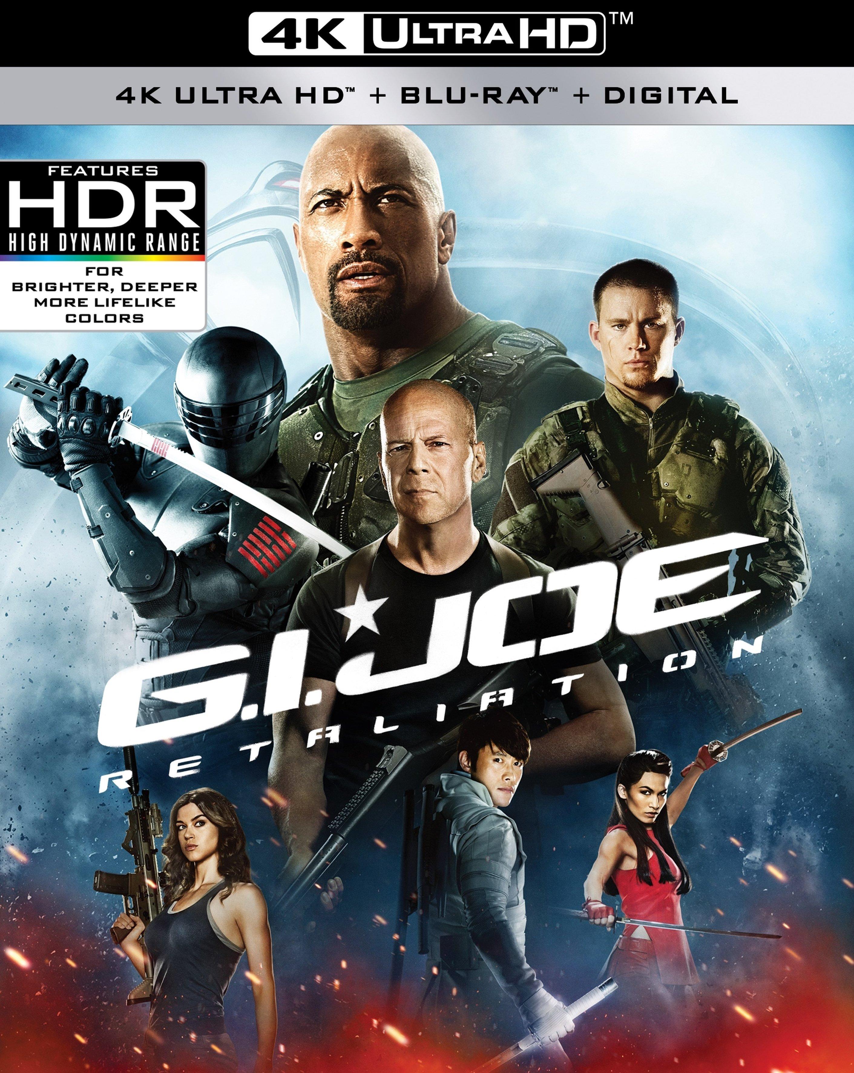 G.I. Joe 2: Retaliation 4K (2013) Ultra HD Blu-ray
