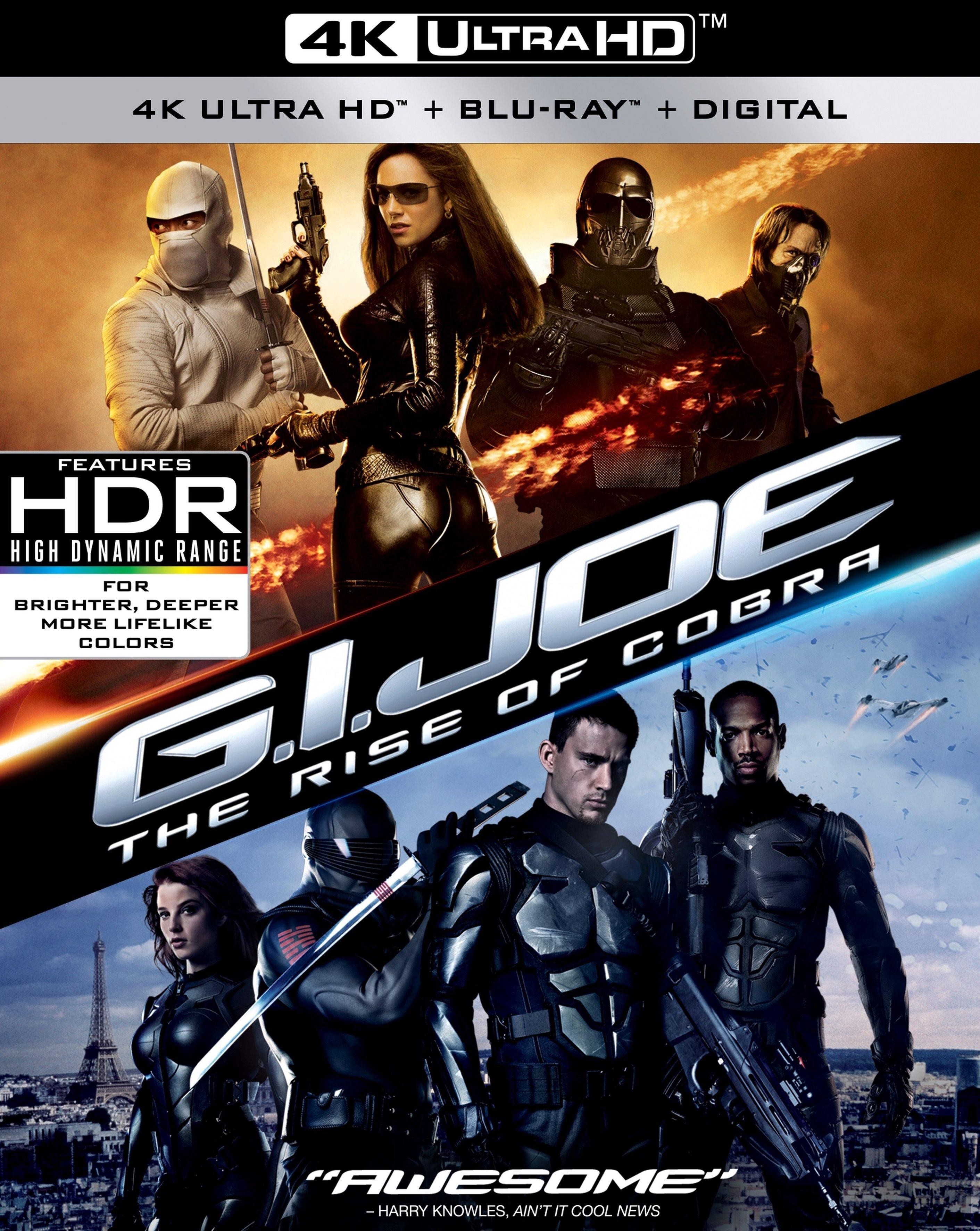 G.I. Joe 1: The Rise of Cobra 4K (2009) Ultra HD Blu-ray