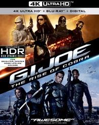 G.I. Joe: The Rise of Cobra 4K (Blu-ray) Temporary cover art