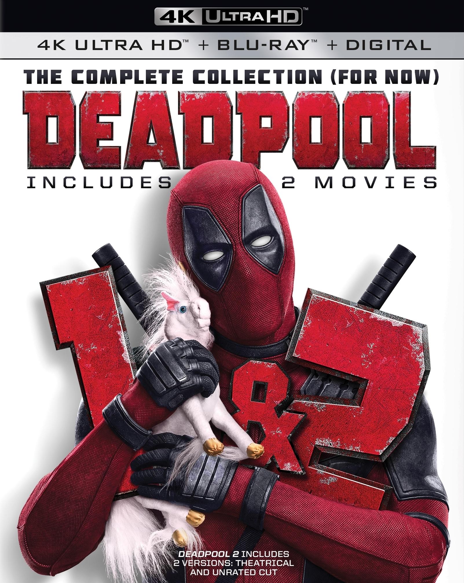Deadpool 1 + 2 4K (2016-2018) 4K Ultra HD Blu-ray