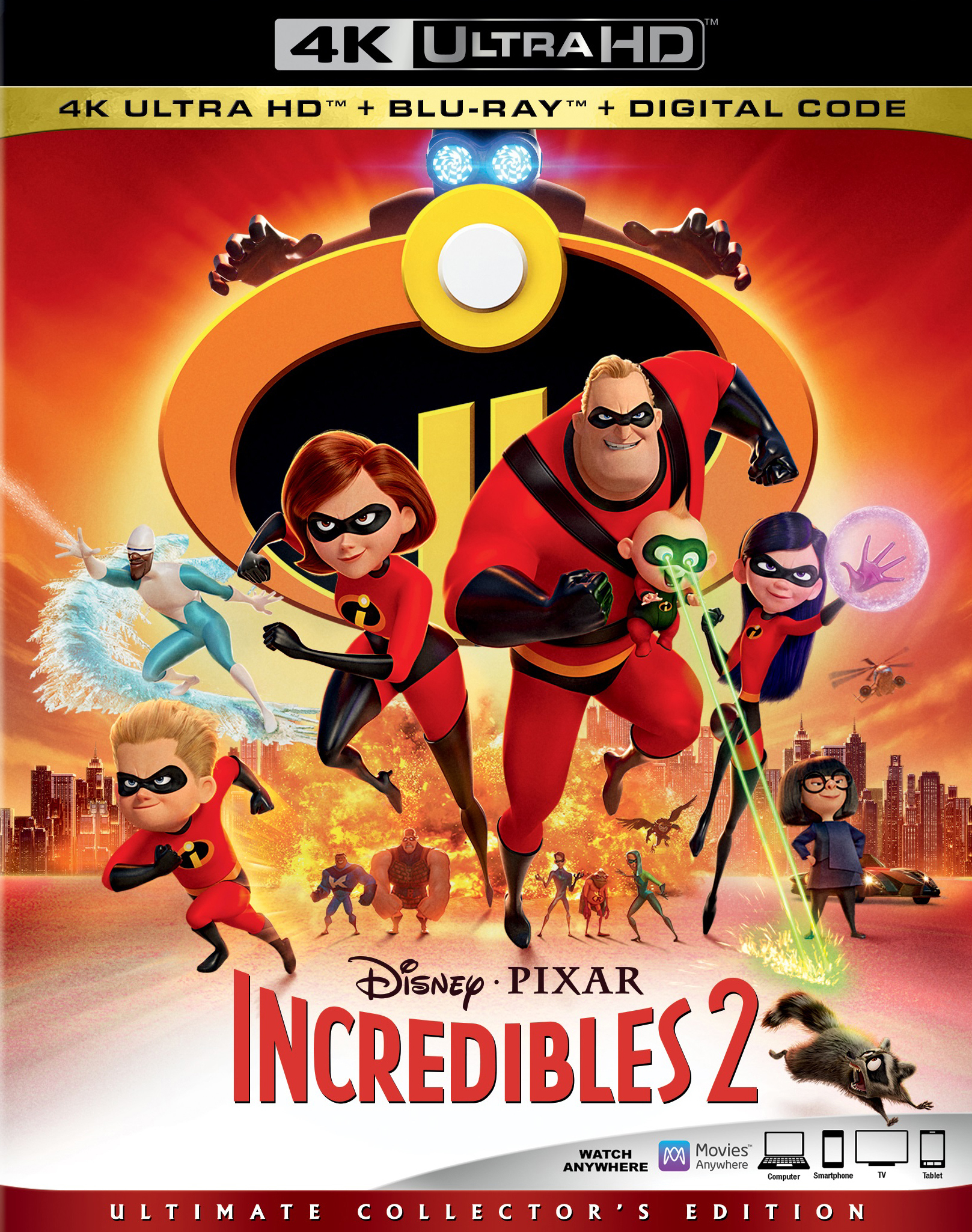 Incredibles 2 4K (2018) Ultra HD Blu-ray