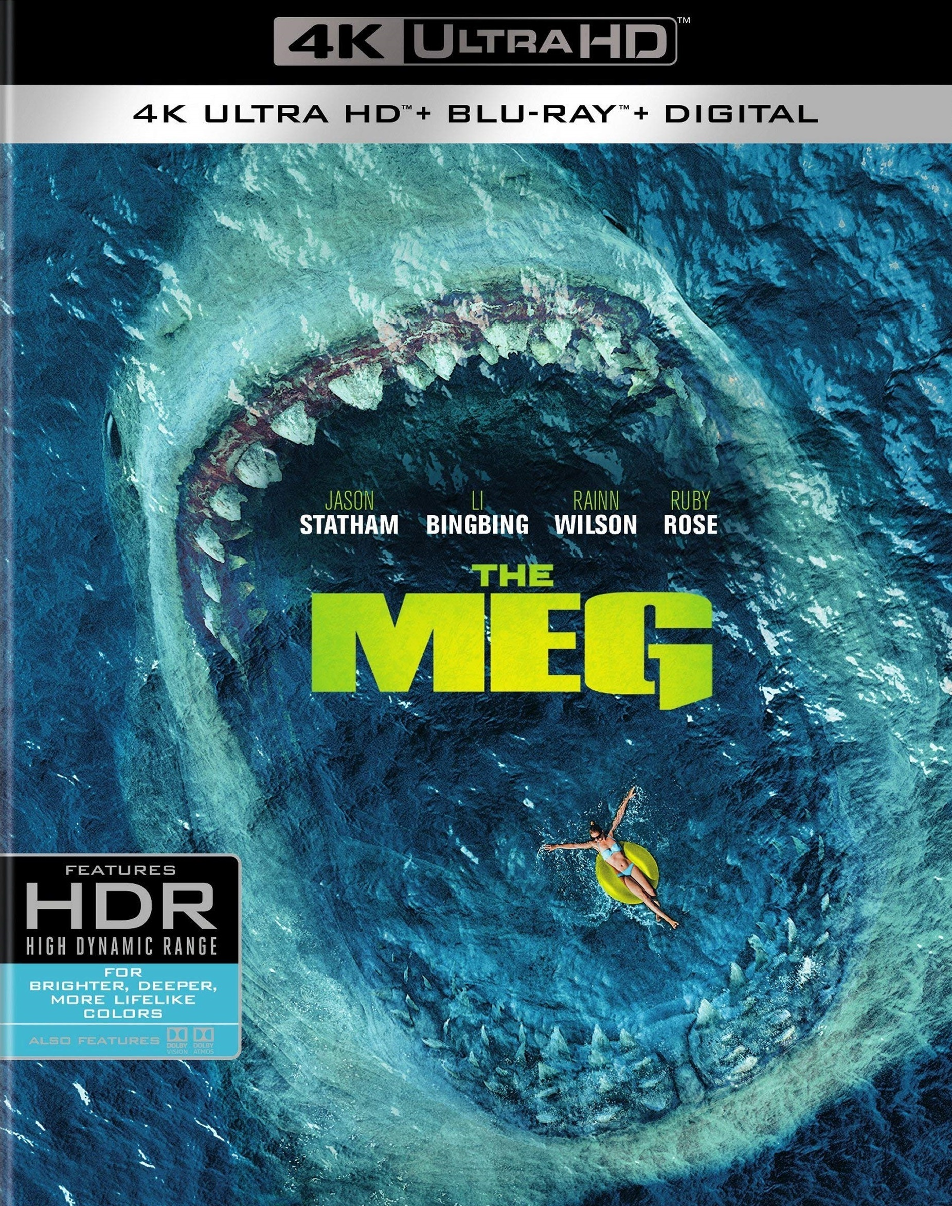 The Meg 4K (2018) Ultra HD Blu-ray