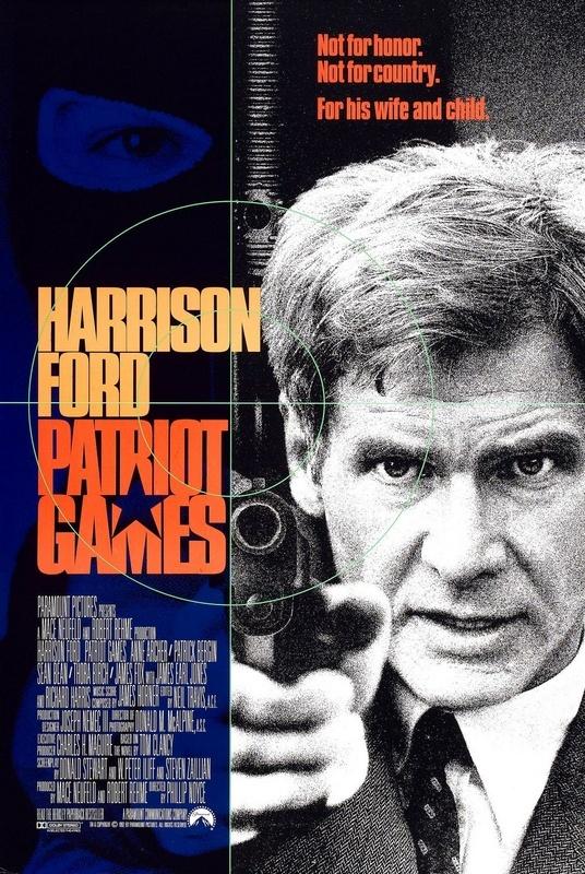 Patriot Games (1992) 4K Ultra HD Blu-ray