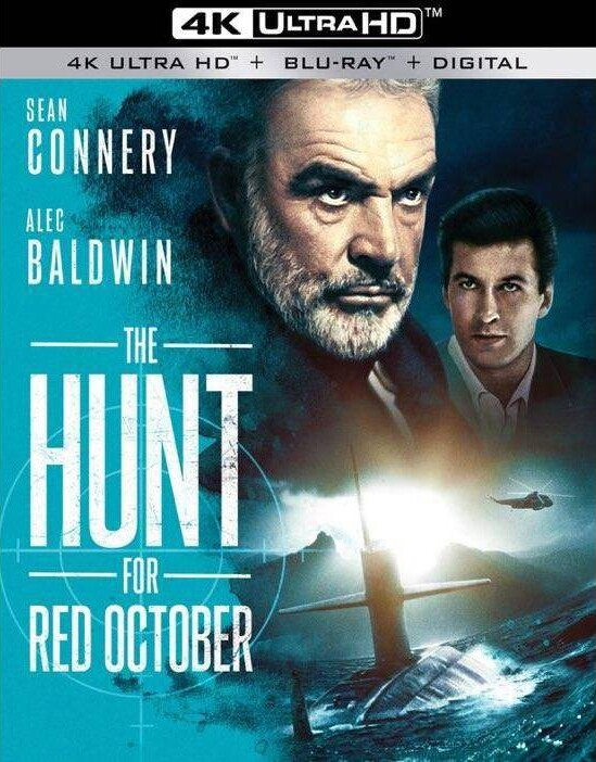 The Hunt For Red October 4K (1990) Ultra HD Blu-ray