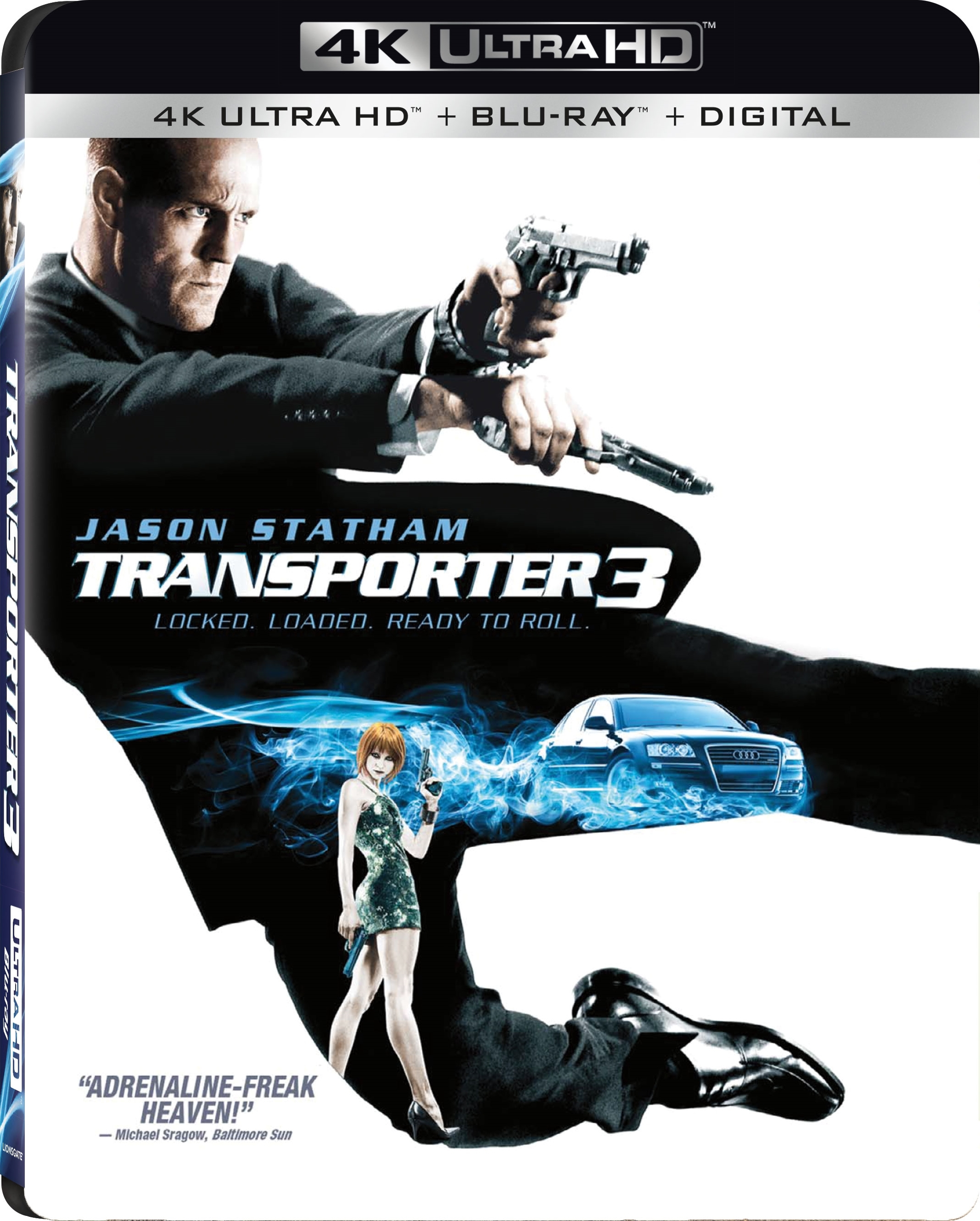 Transporter 3 (2008) 4K Ultra HD Blu-ray
