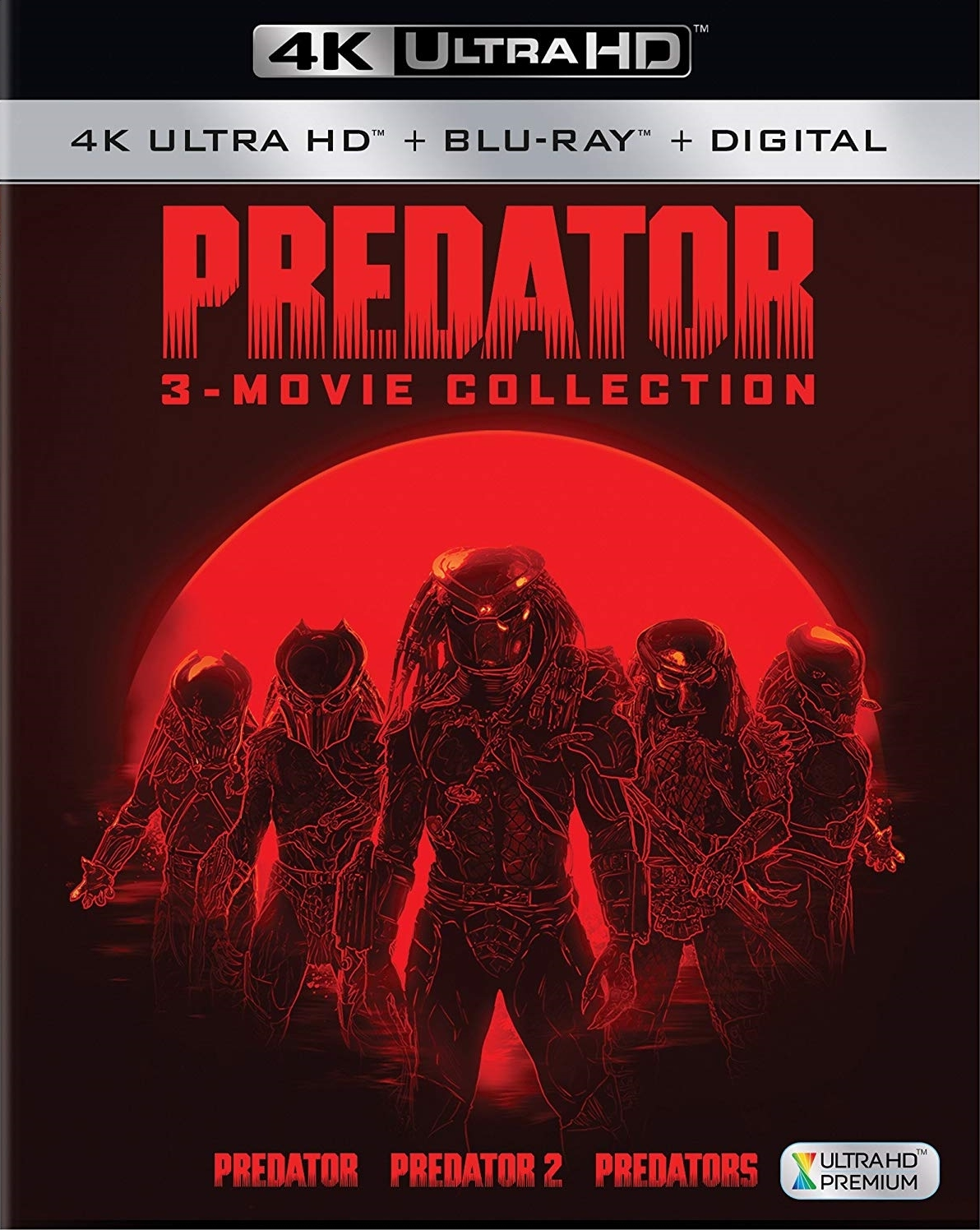 Predator Trilogy 4K Ultra HD Blu-ray