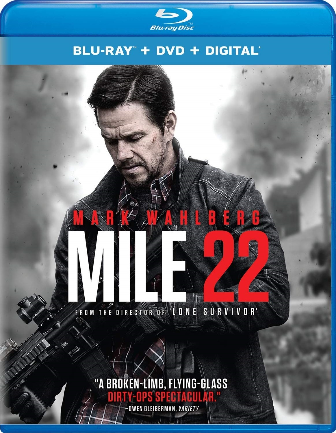 Mile 22 (Blu-ray)(Region Free)