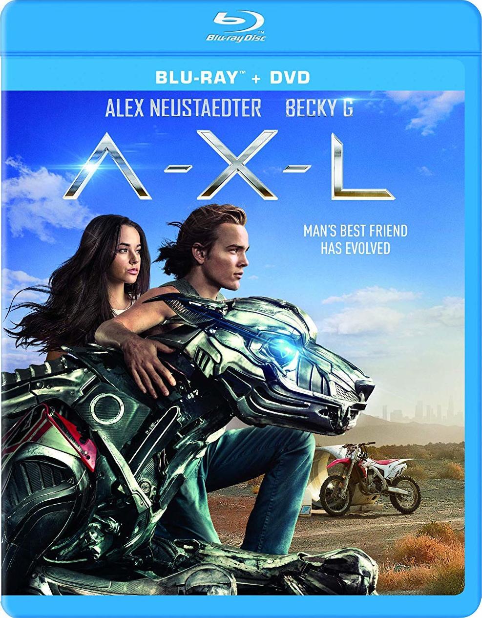 A.X.L. (Blu-ray)(Region A)
