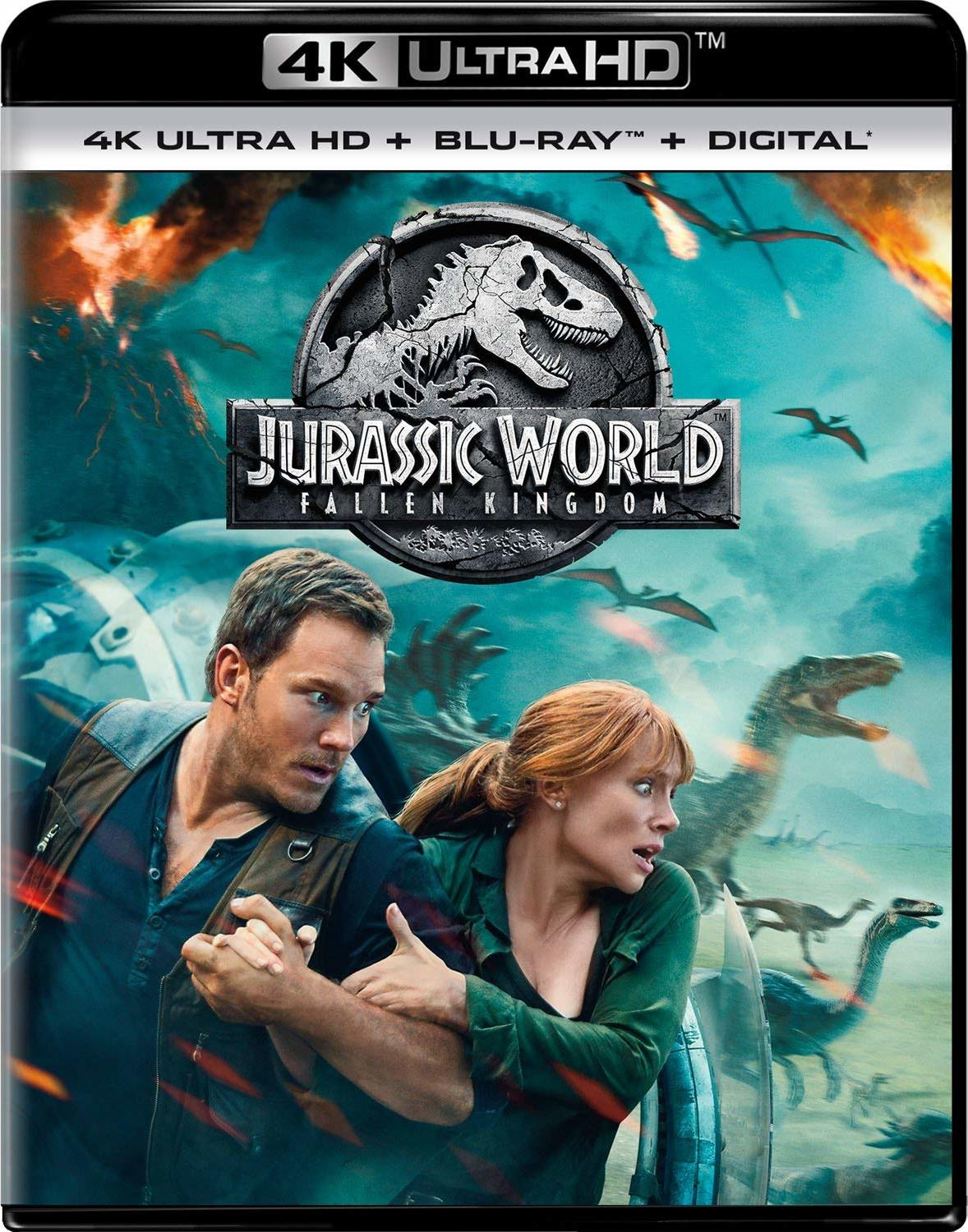Jurassic World 2: Fallen Kingdom 4K (2018) Ultra HD Blu-ray