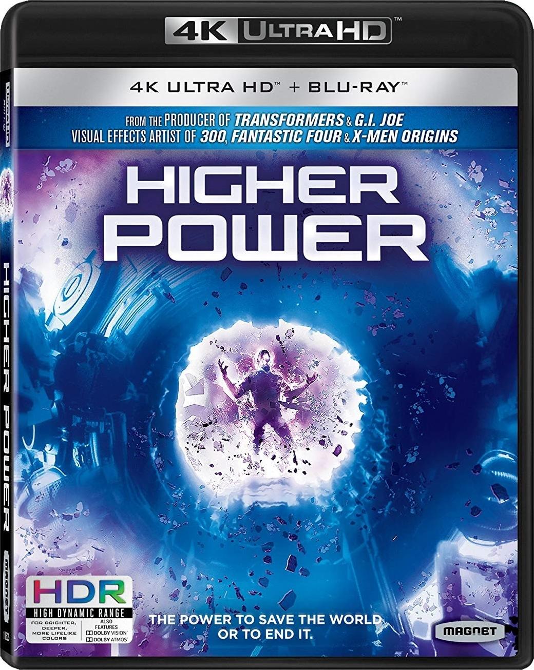 Higher Power 4K (2018) Ultra HD Blu-ray