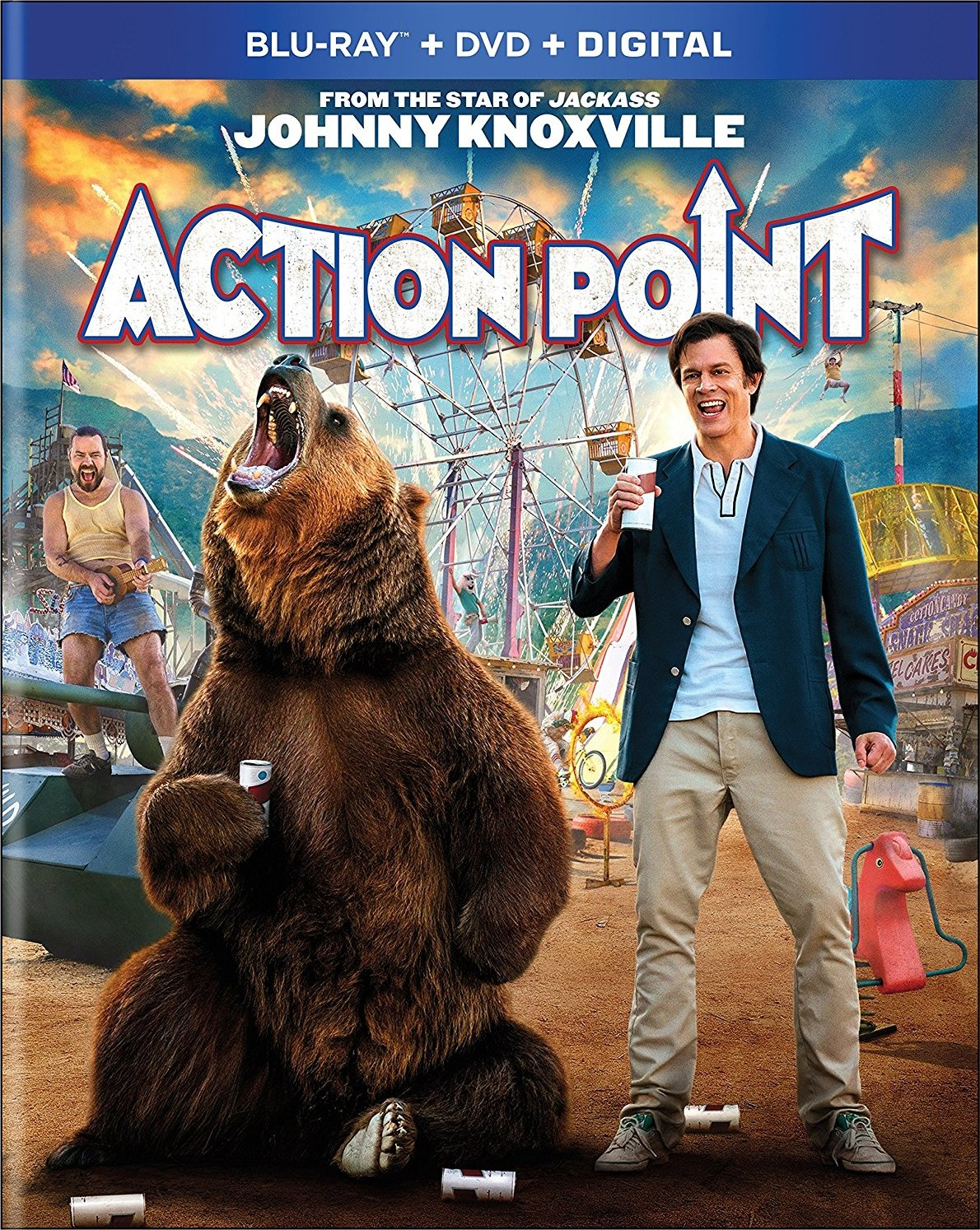 Action Point (Blu-ray)(Region A)