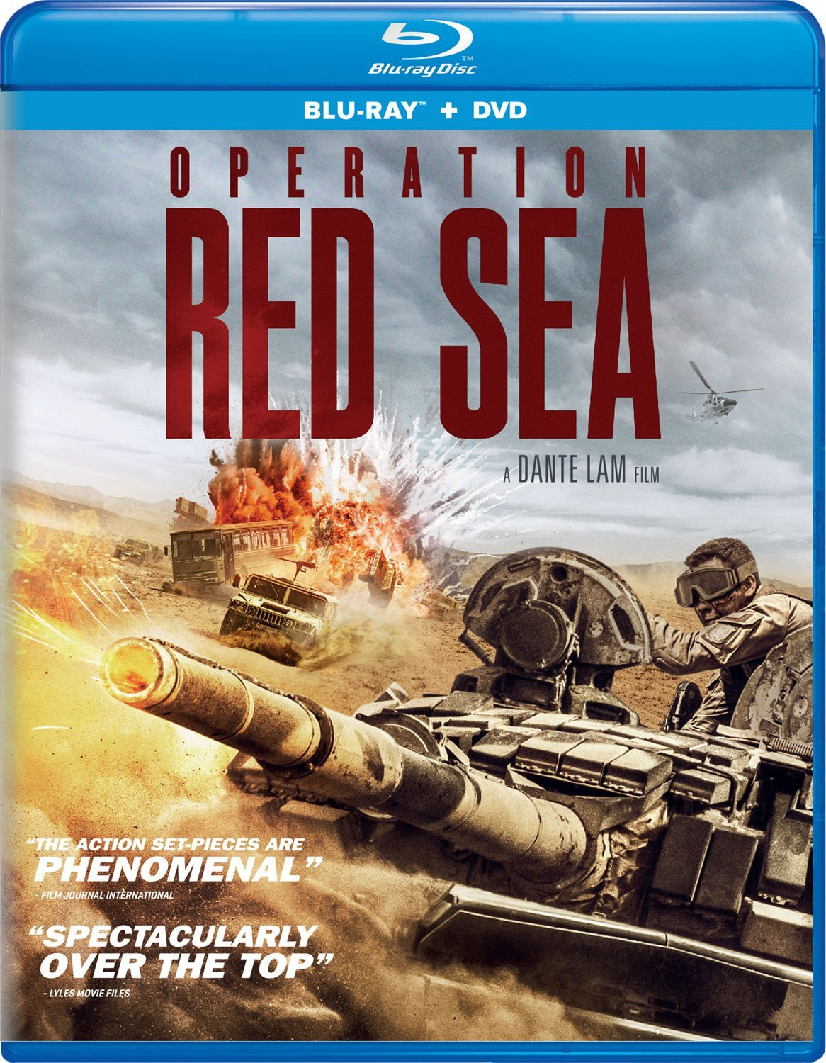 Operation Red Sea (2018) Blu-ray