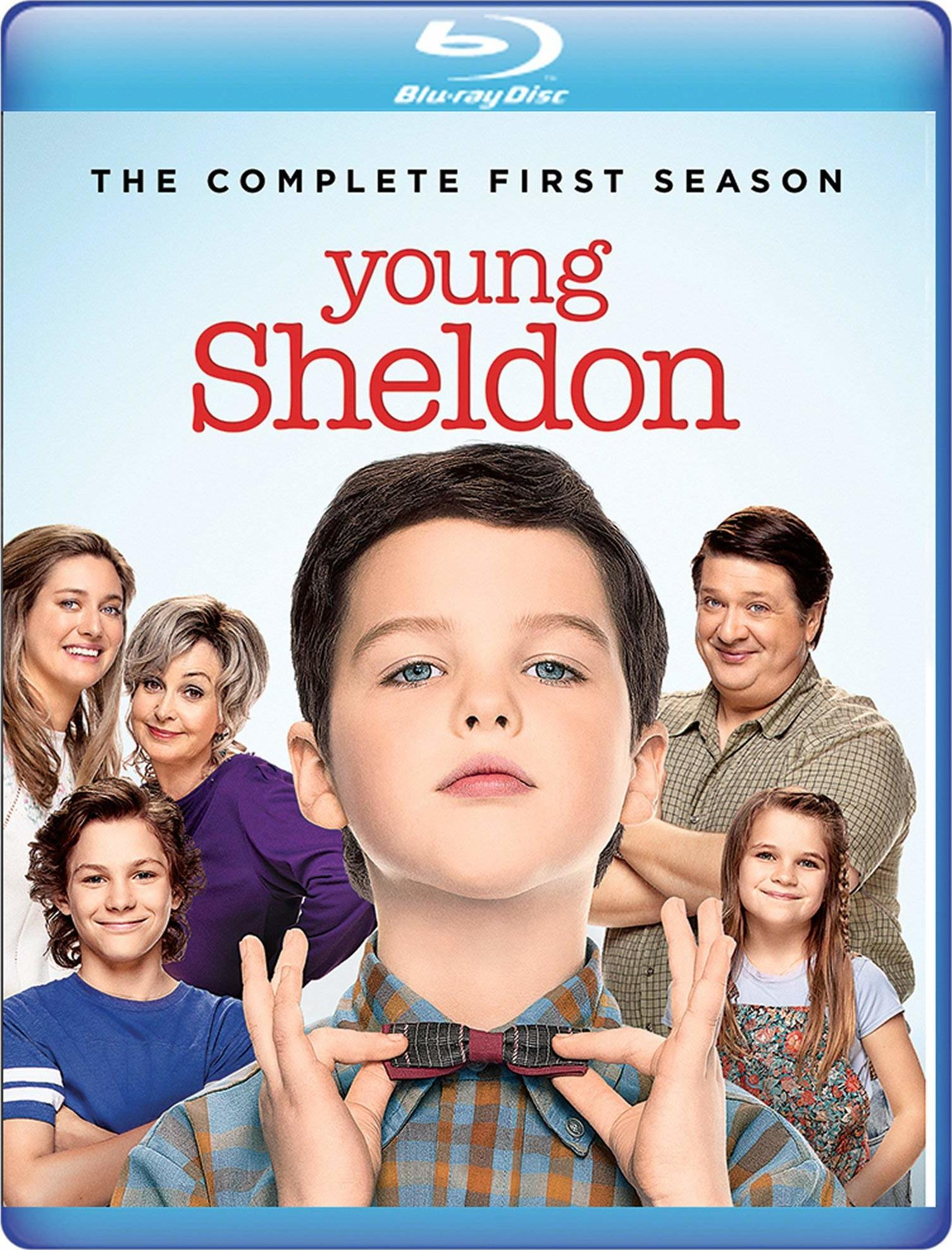 Young Sheldon: The Complete First Season (Warner Archive Collection)(Blu-ray)(Region Free)