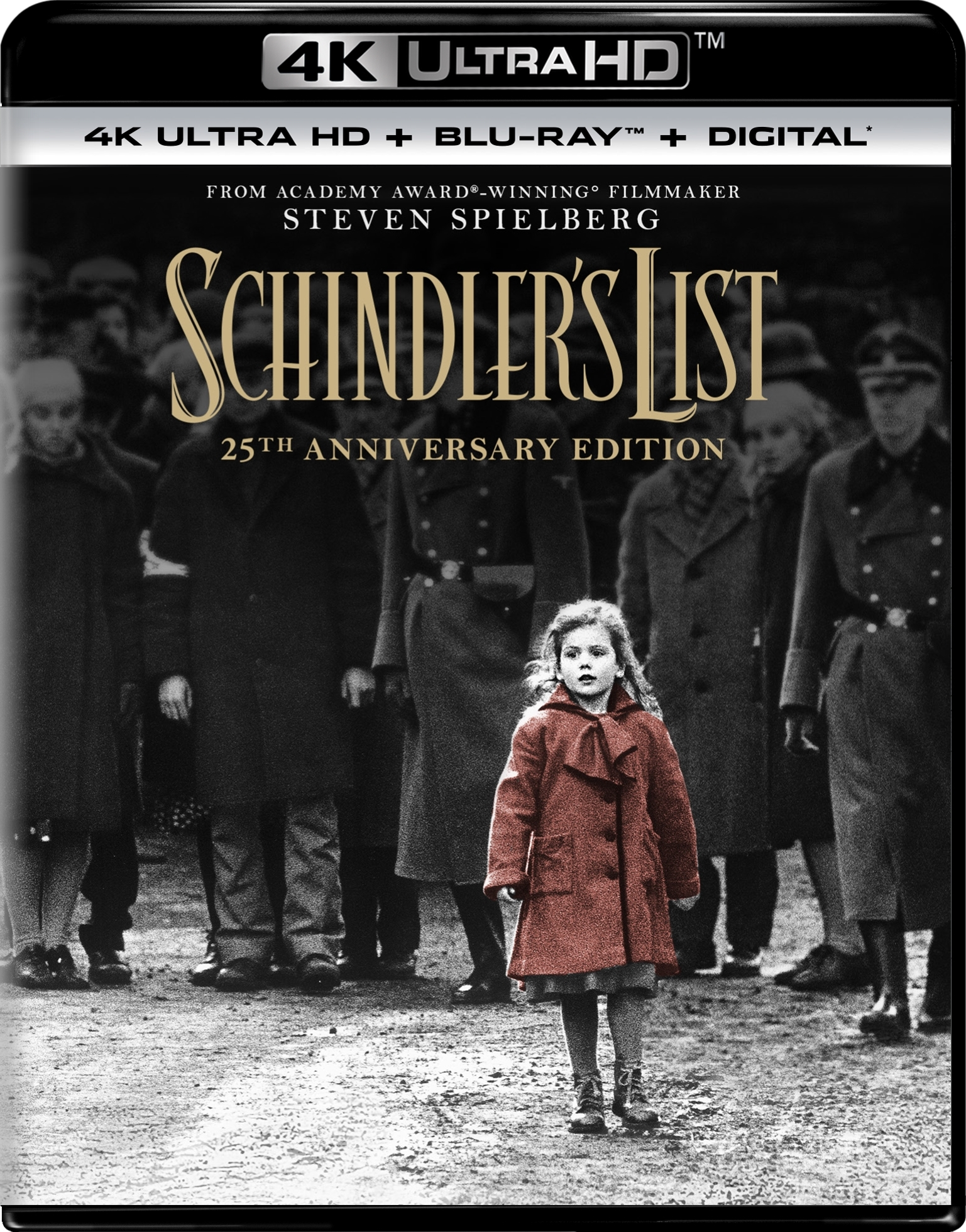 Schindlers List 4K (1993) Ultra HD Blu-ray