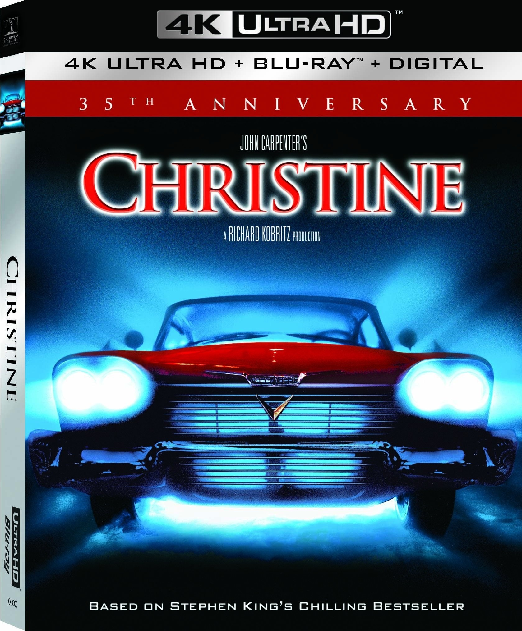 Christine (35th Anniversary) 4K (1983) Ultra HD Blu-ray