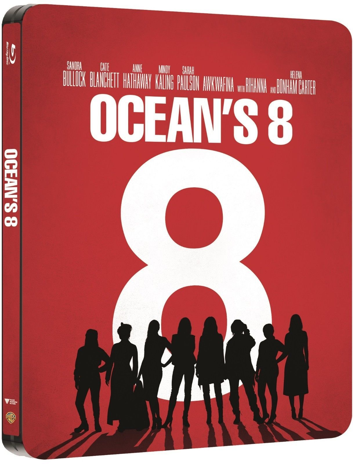 Oceans 8 (SteelBook)(2018) 4K Ultra HD Blu-ray