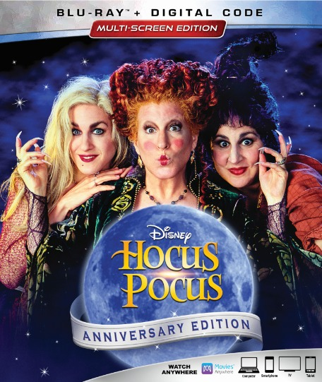Hocus Pocus (25th Anniversary Edition)(Blu-ray)(Region Free)