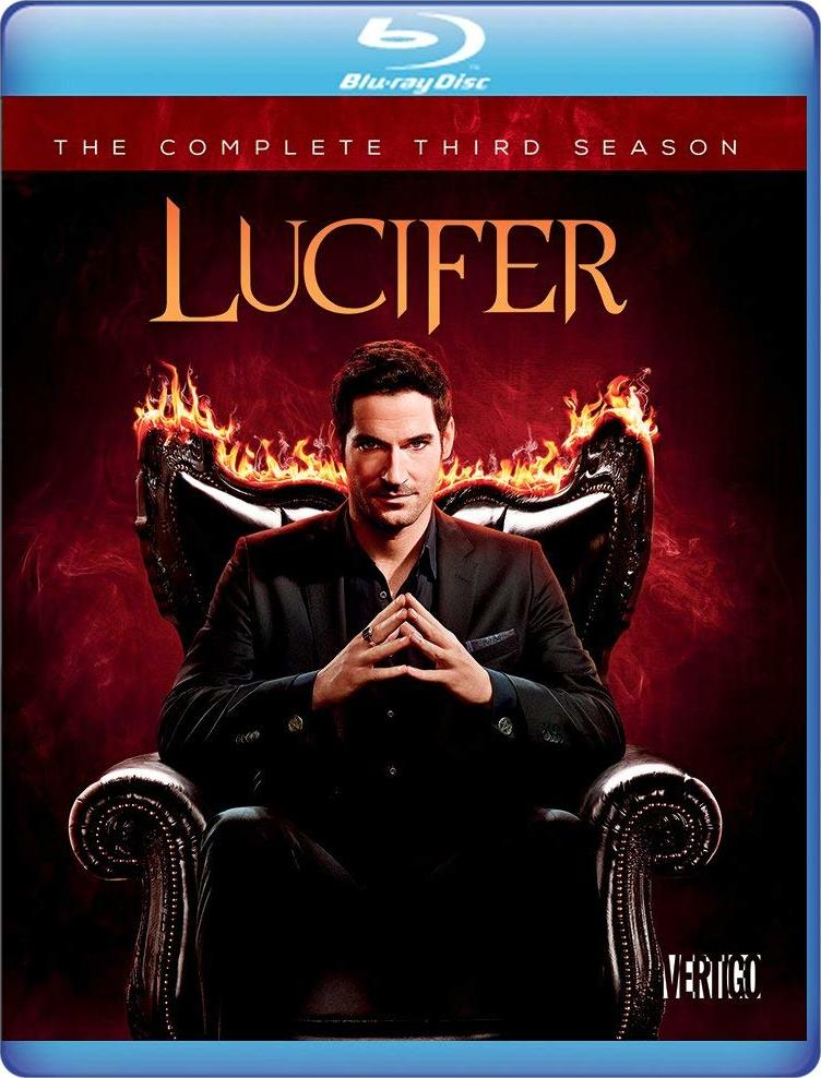 Lucifer: The Complete Third Season (Warner Archive Collection)(Blu-ray)(Region Free)