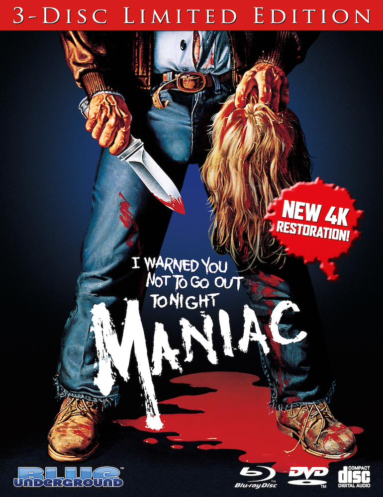 Maniac (3 Disc Limited Edition)(Blu-ray)(Region Free)