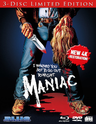 Maniac (Blu-ray) Temporary cover art