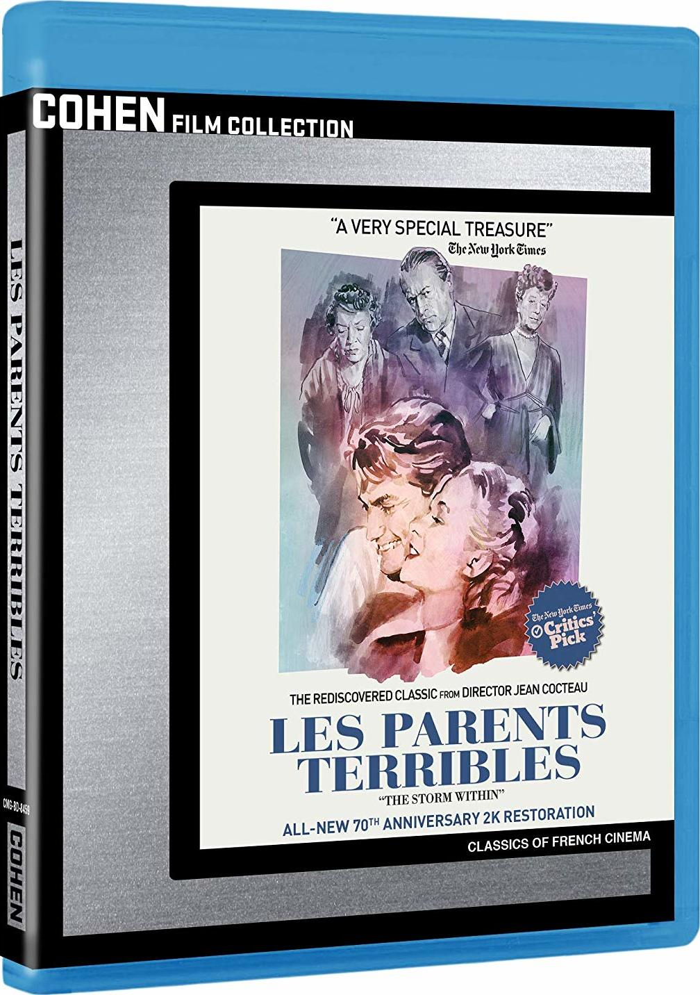 Les Parents Terribles (Cohen Collection)(Blu-ray)(Region A)