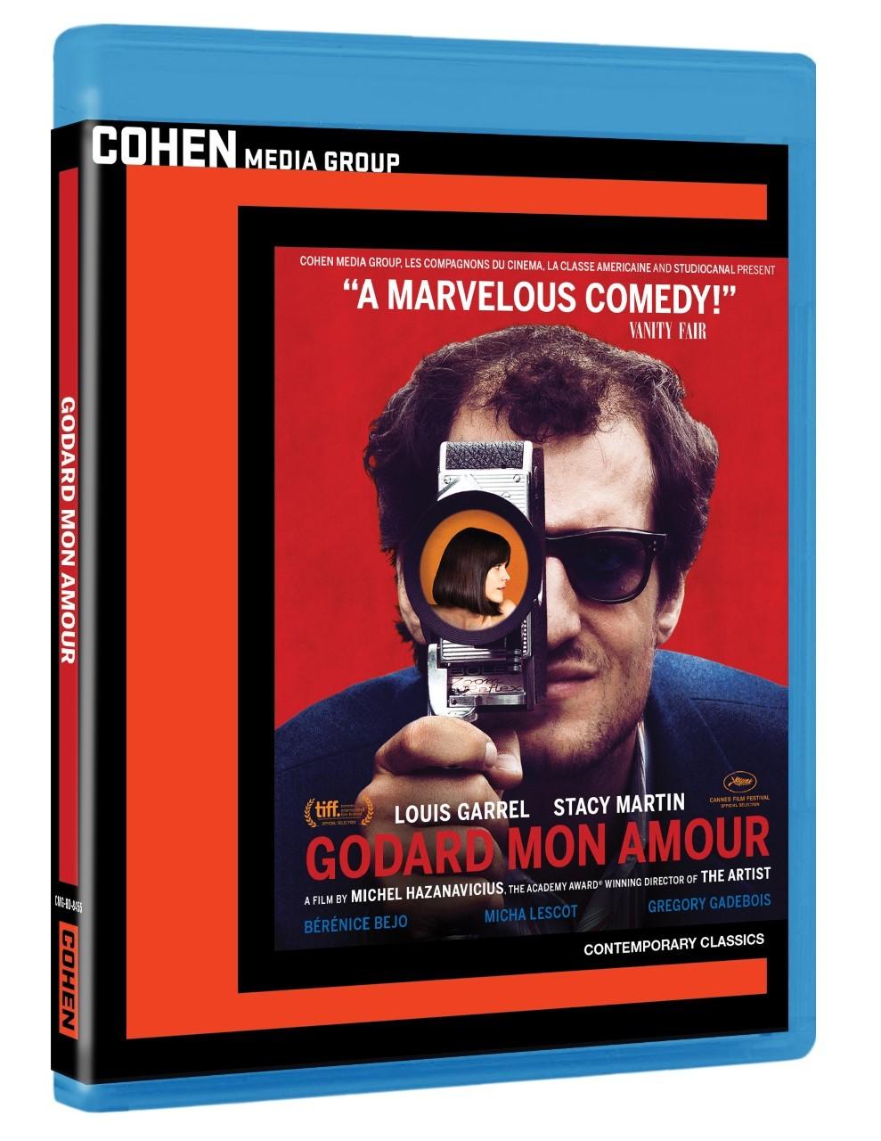 Godard Mon Amour (2017) Blu-ray