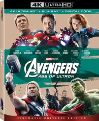 Avengers Age Of Ultron 4k Blu Ray Release Date August 14 2018 Cinematic Universe Edition