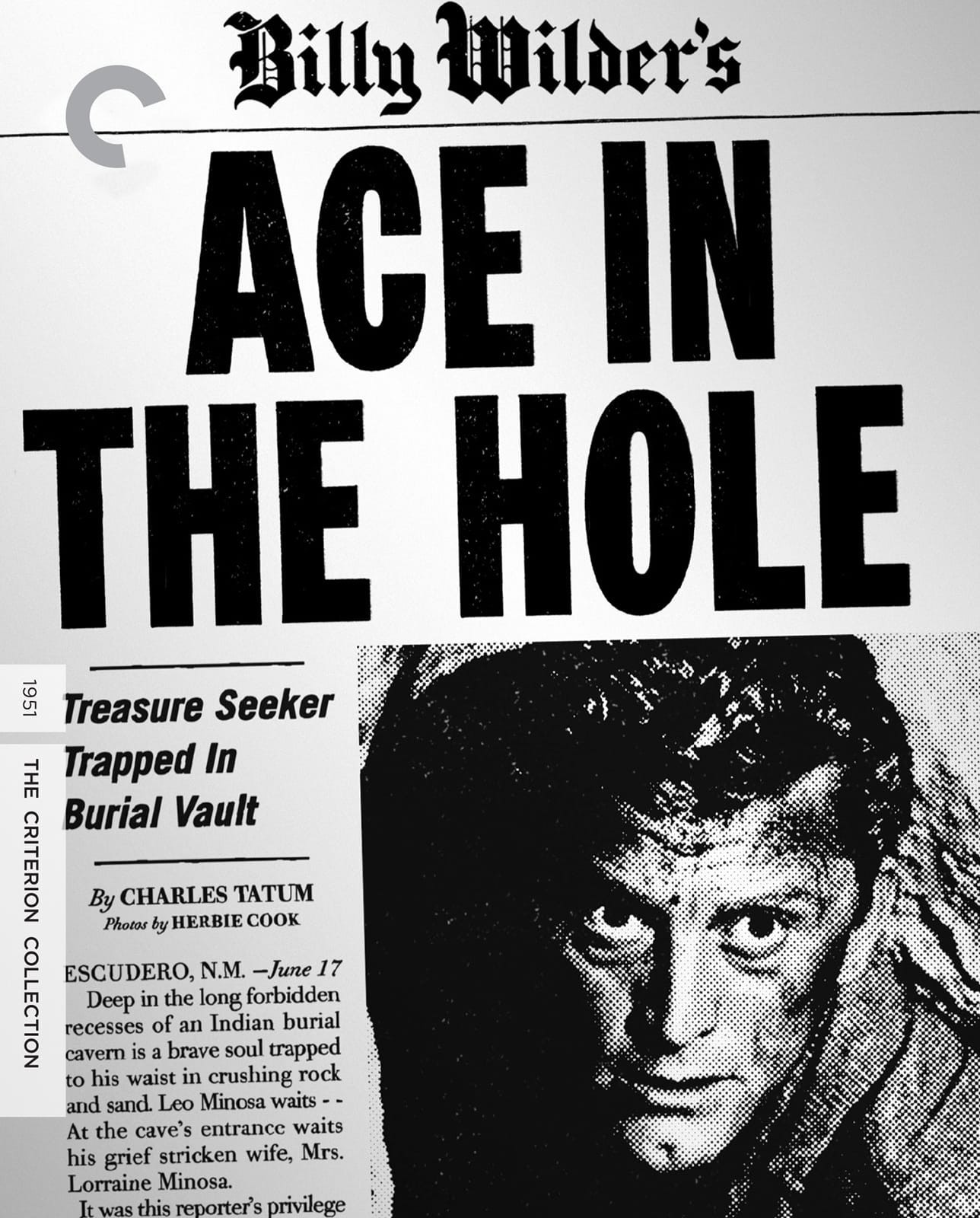 Ace in the Hole (The Criterion Collection)(Blu-ray)(Region A)