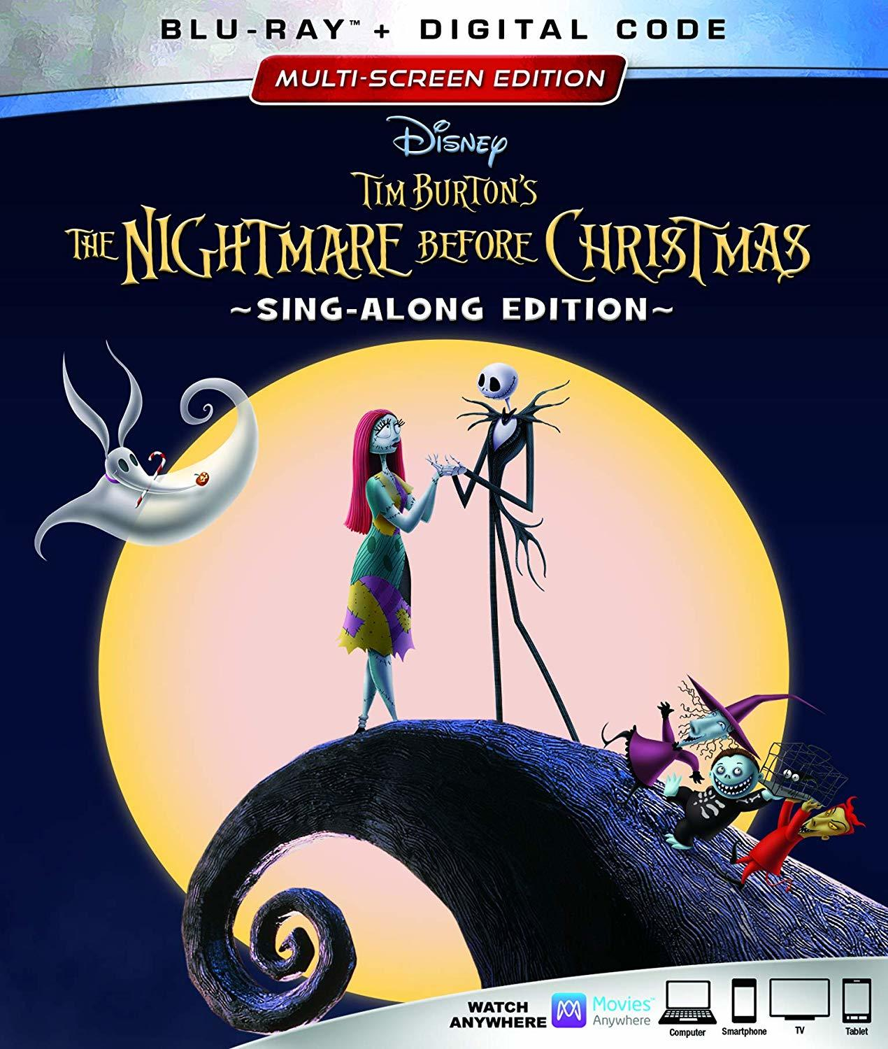 The Nightmare Before Christmas (25th Anniversary Edition)(Blu-ray)(Region Free)