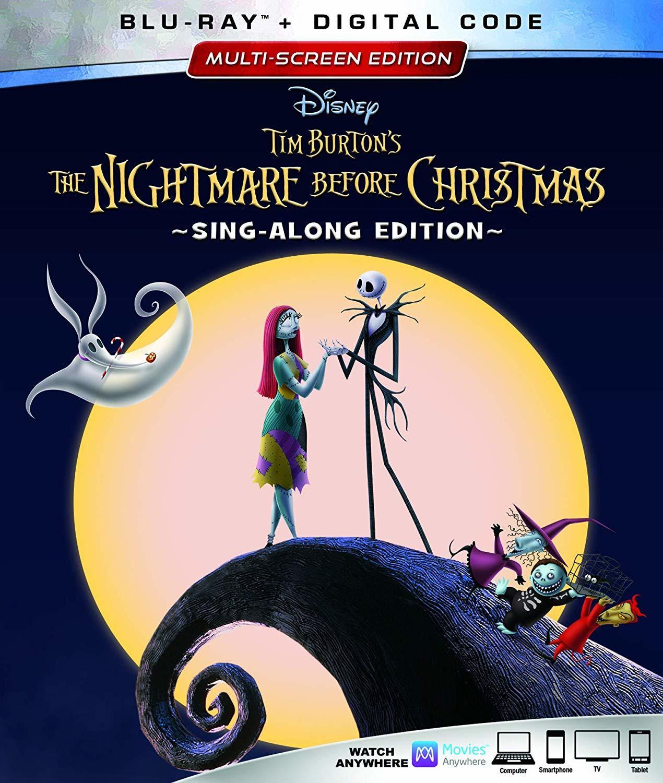 The Nightmare Before Christmas (25th Anniversary Edition)(Blu-ray)(Region Free)