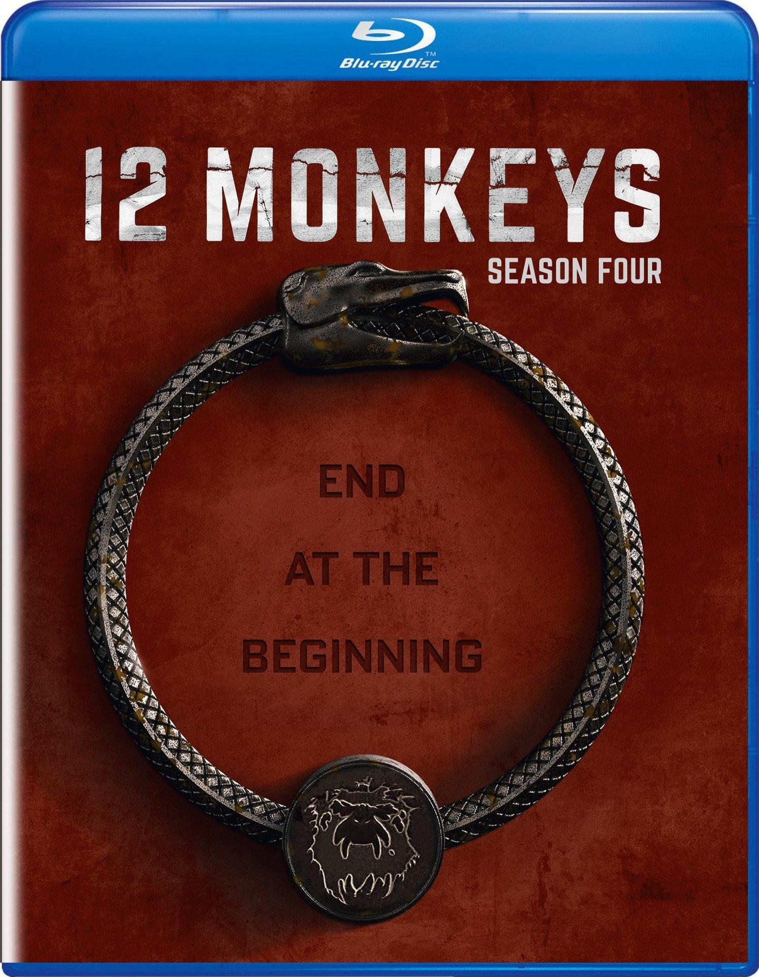 12 Monkeys: Season Four (Blu-ray)(Region A)