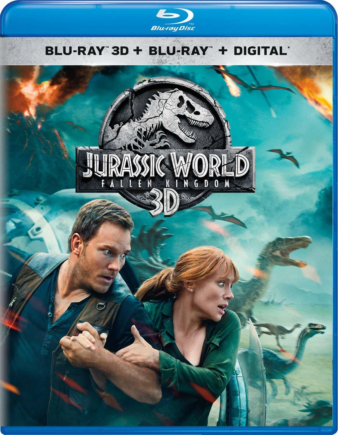 Jurassic World 2: Fallen Kingdom 3D (Blu-ray 3D)(Region Free)