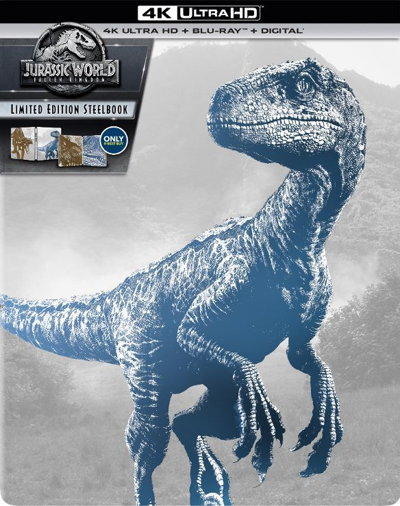 Jurassic World 2: Fallen Kingdom 4K (SteelBook)(2018) 4K Ultra HD Blu-ray