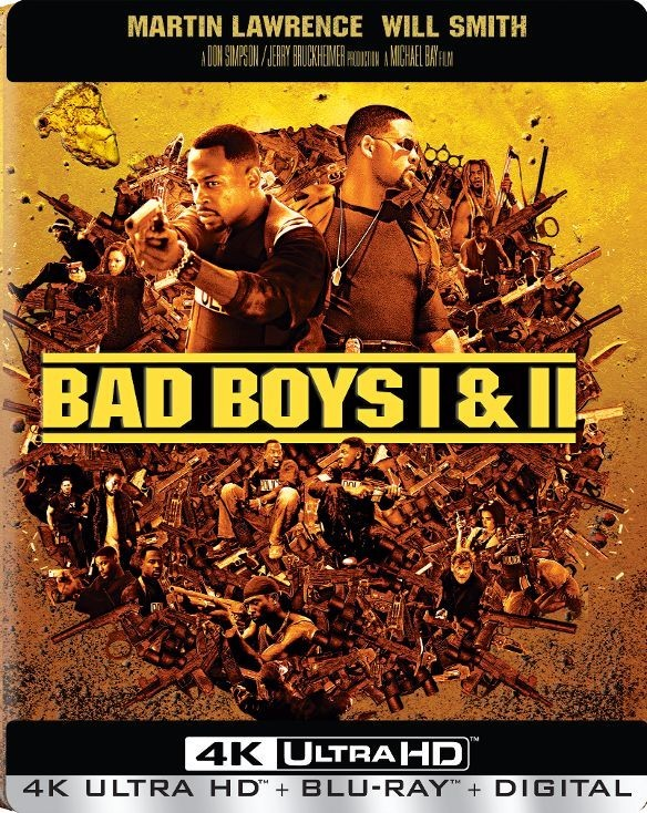 Bad Boys 1 & 2 Collection 4K (SteelBook) 4K Ultra HD Blu-ray