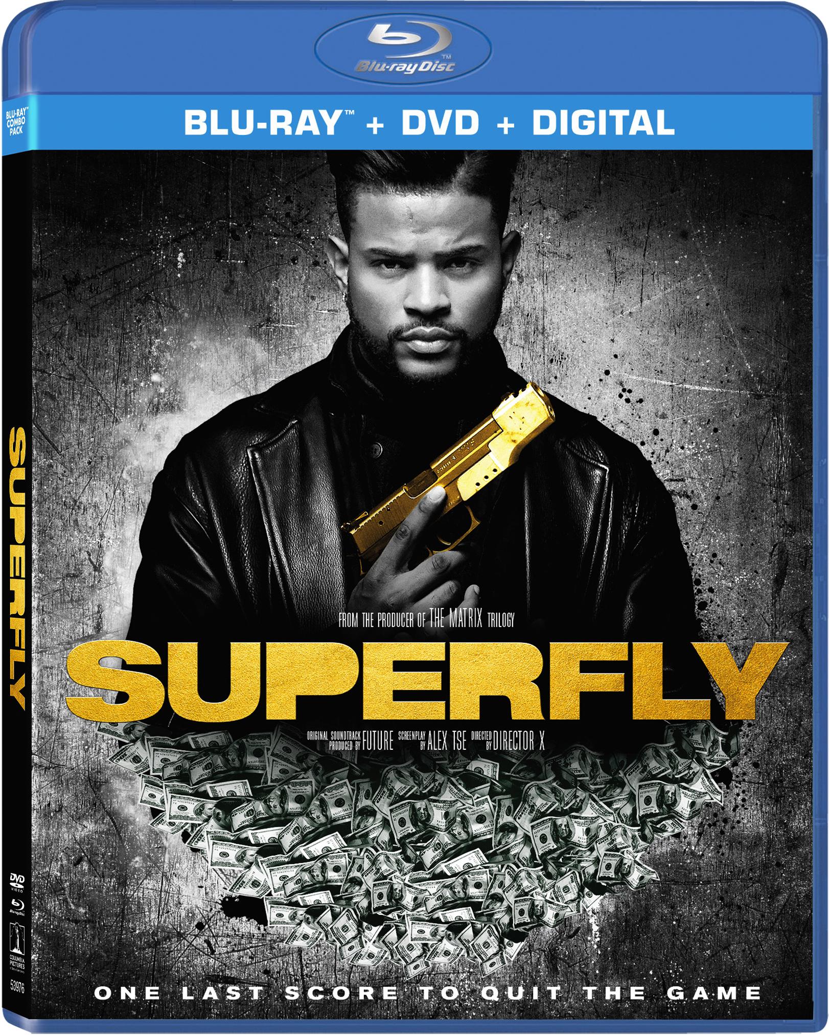 Superfly (2018)(Blu-ray)(Region A)