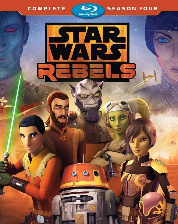 Star Wars Rebels: Complete Season Four (TV) (2017-2018) Blu-ray