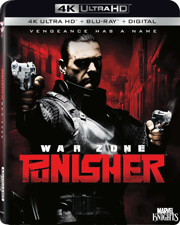 Punisher: War Zone (2008) 4K Ultra HD Blu-ray