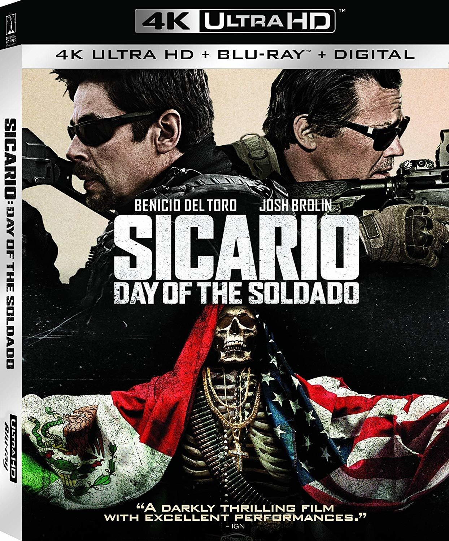 Sicario: Day of the Soldado (2018) 4K Ultra HD Blu-ray